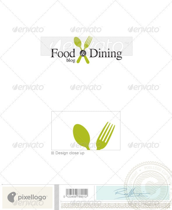 Activities & Leisure Logo - 1984 - Food Logo Templates