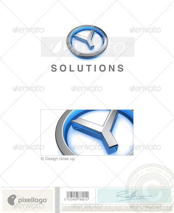 Y Logo - 3D-683-Y - Letters Logo Templates