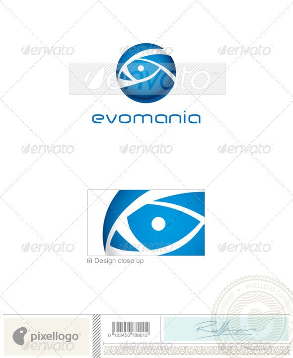 Communications Logo - 1821 - Vector Abstract