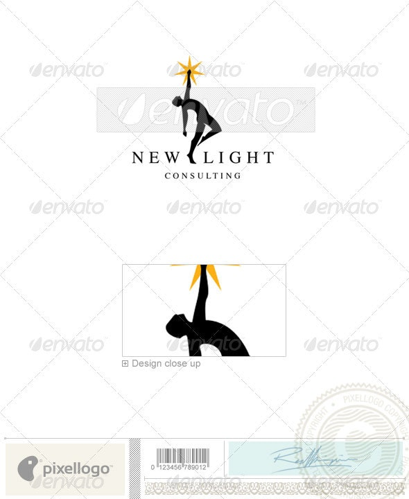 Business & Finance Logo - 1791 - Vector Abstract