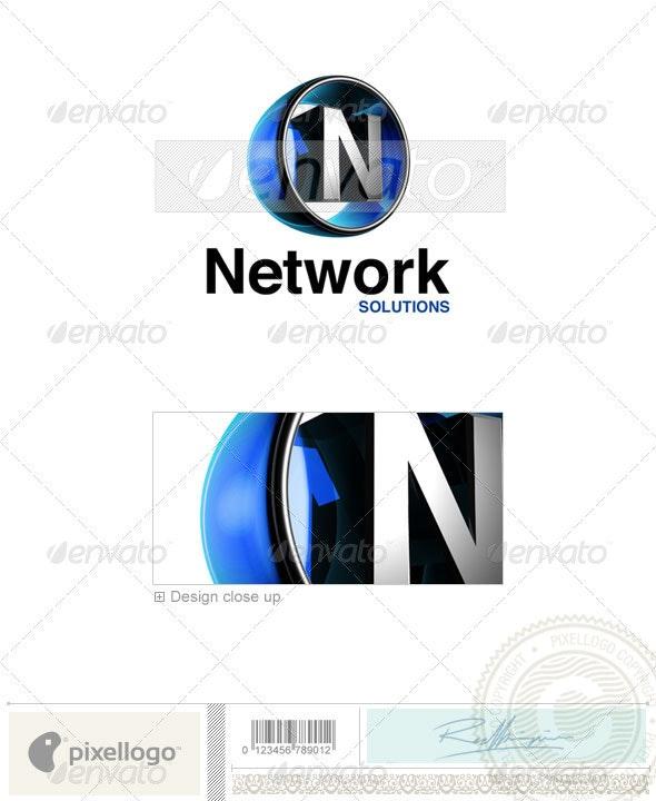N Logo - 3D-438-N - Letters Logo Templates
