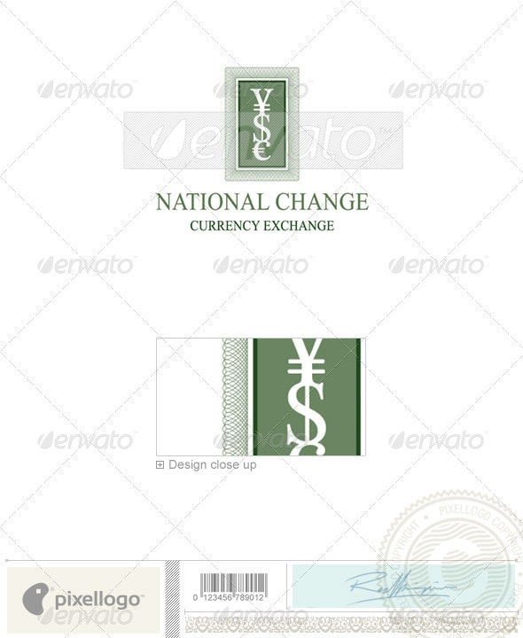 Business & Finance Logo - 1155 - Objects Logo Templates