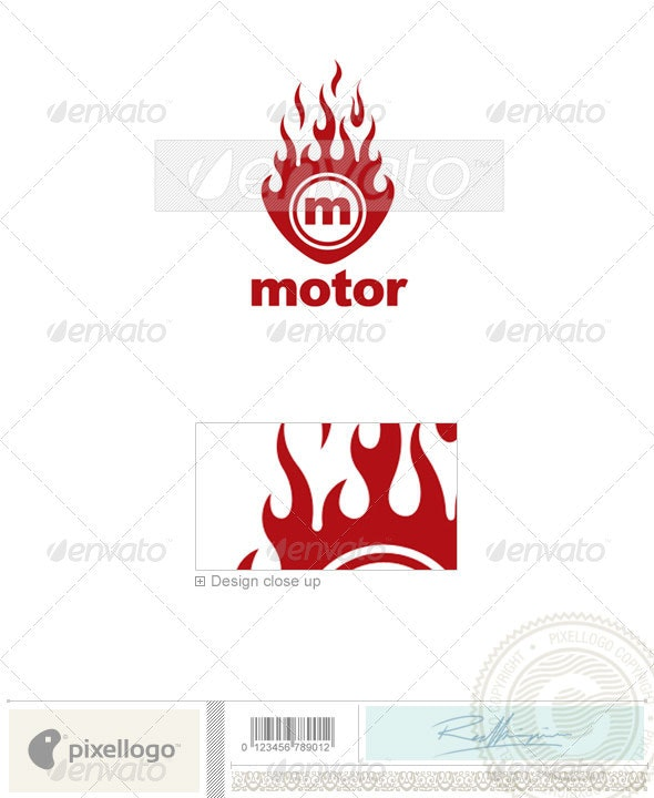Industry & Science Logo - 1695 - Vector Abstract