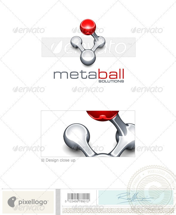 Industry & Science Logo - 3D-401 - 3d Abstract
