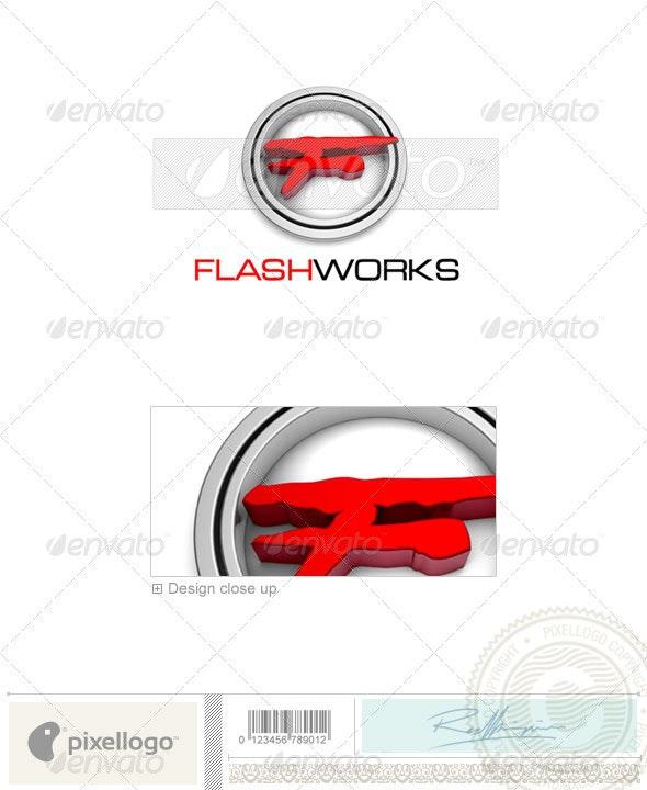 Print & Design Logo - 3D-381 - 3d Abstract