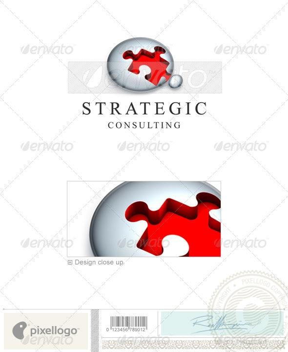 Business & Finance Logo - 3D-392 - 3d Abstract