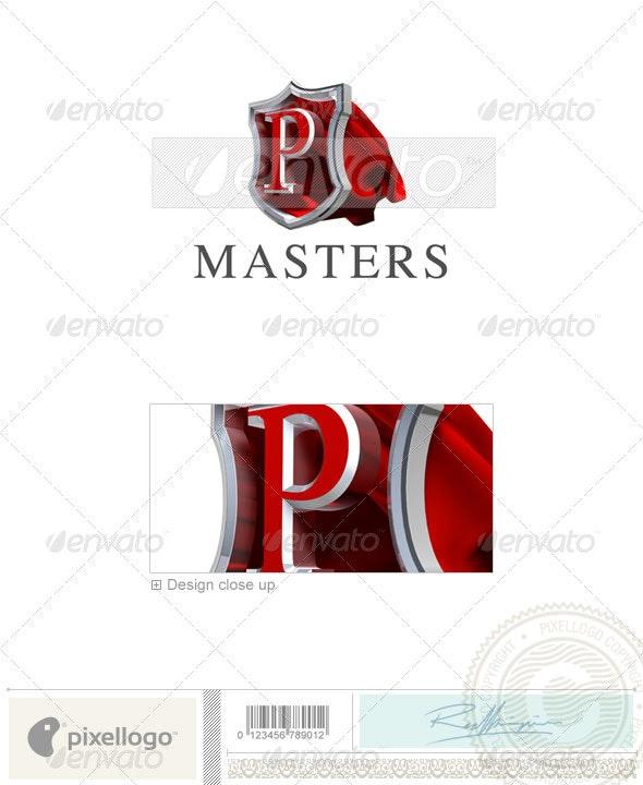 P Logo - 3D-259-P - Letters Logo Templates