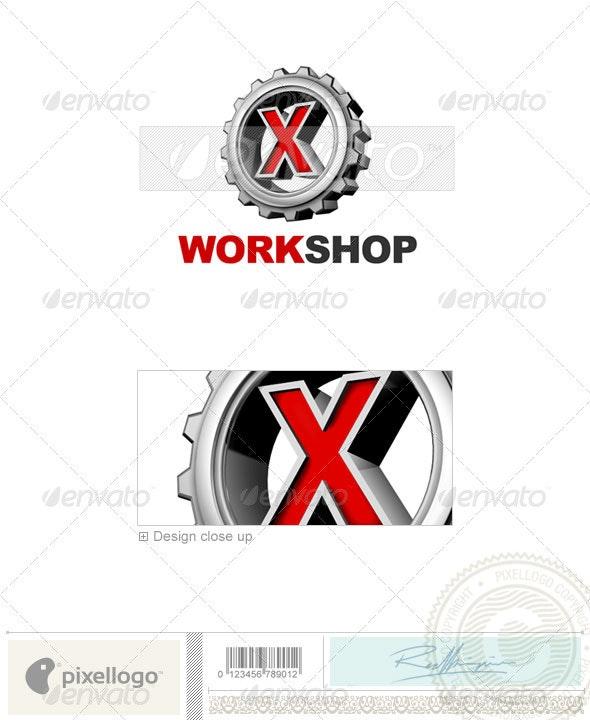 X Logo - 3D-292-X - Letters Logo Templates