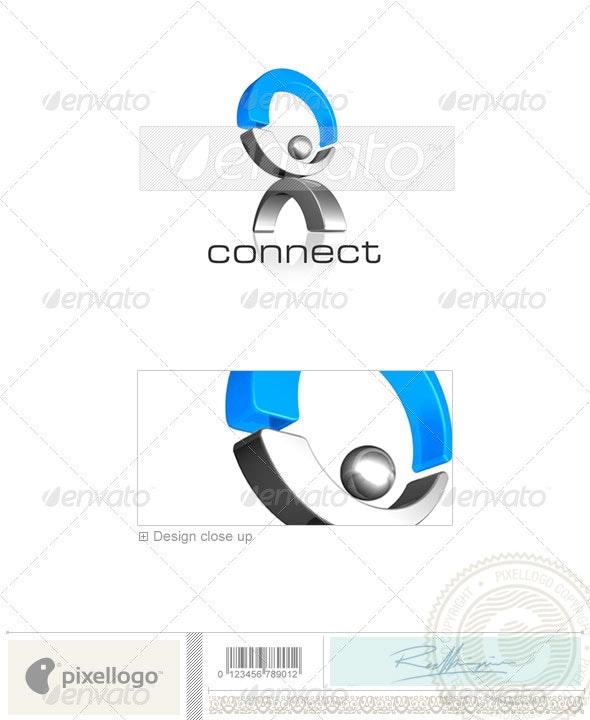 Business & Finance Logo - 3D-153 - 3d Abstract