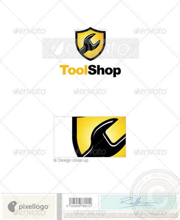 Industry & Science Logo - 2173 - Objects Logo Templates