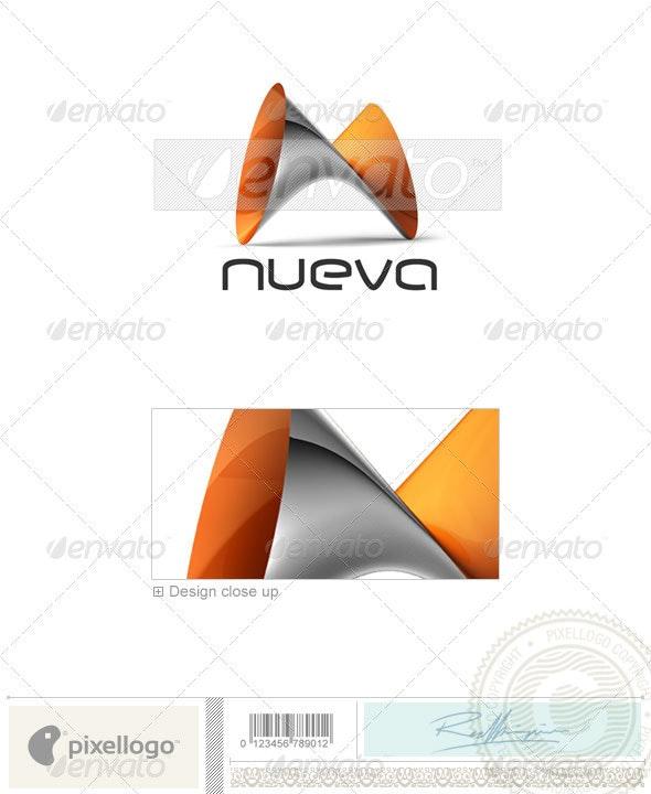 Technology Logo - 3D-377 - 3d Abstract