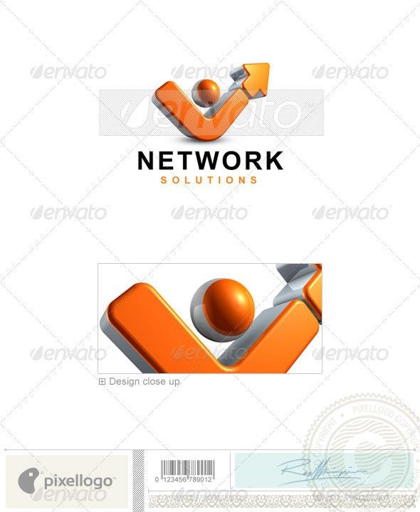 Business & Finance Logo - 3D-408 - 3d Abstract