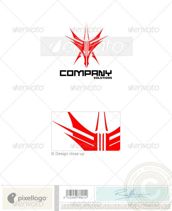 Business & Finance Logo - 214 - Vector Abstract