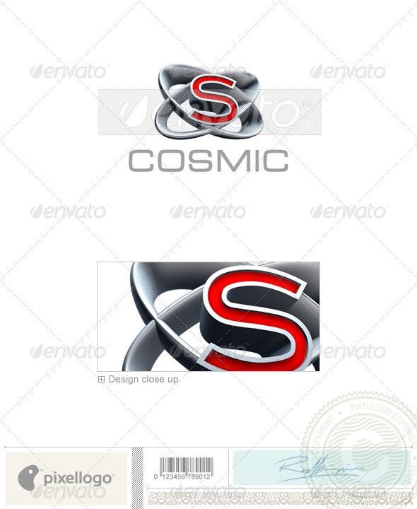 S Logo - 3D-348-S - Letters Logo Templates
