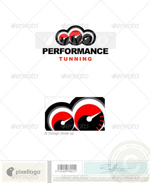 Transport Logo - 235 - Vector Abstract