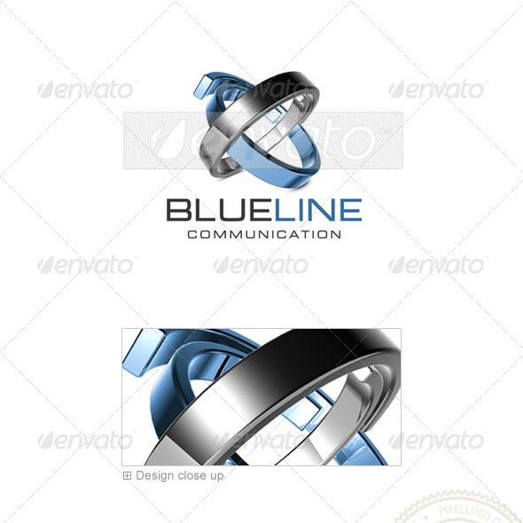 Communications Logo - 3D-435