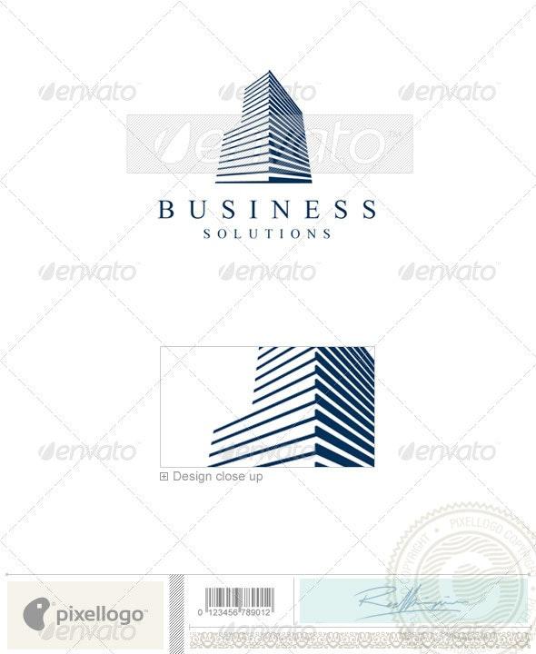 Home & Office Logo - 1168 - Buildings Logo Templates