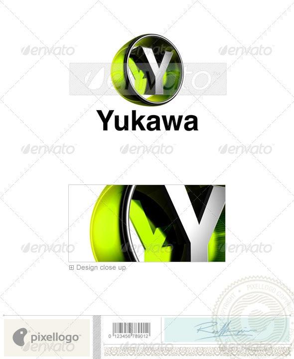 Y Logo - 3D-438-Y - Letters Logo Templates