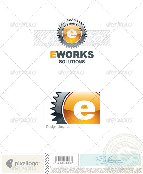 Industry & Science Logo - 1785 - Letters Logo Templates