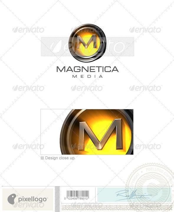 M Logo - 3D-238-M - Letters Logo Templates