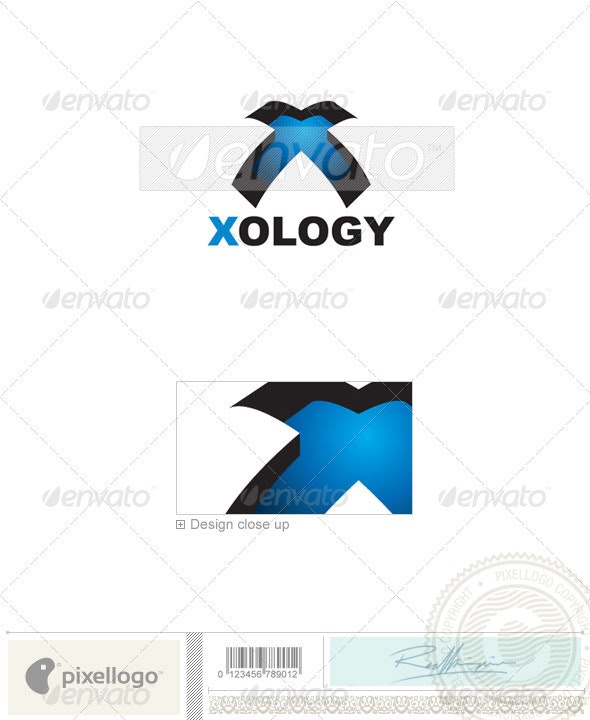 Technology Logo - 233 - Letters Logo Templates