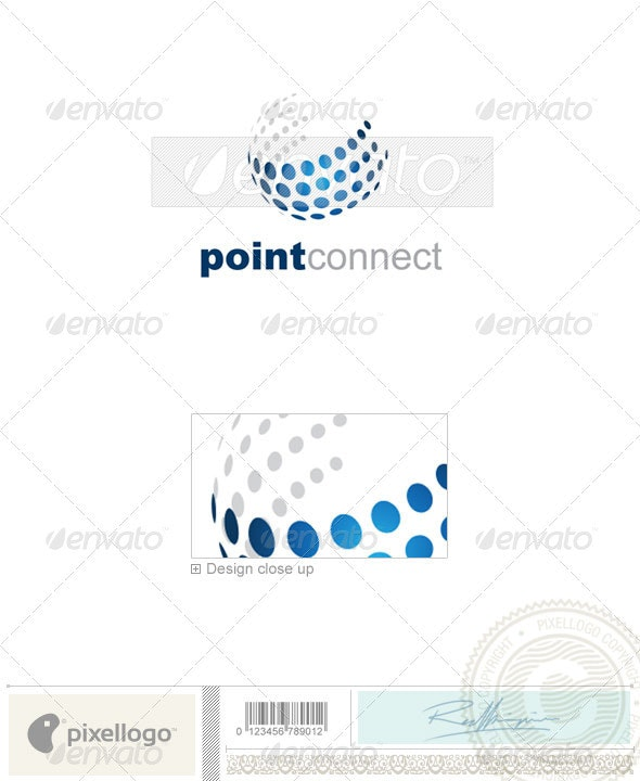 Communications Logo - 2038 - Vector Abstract