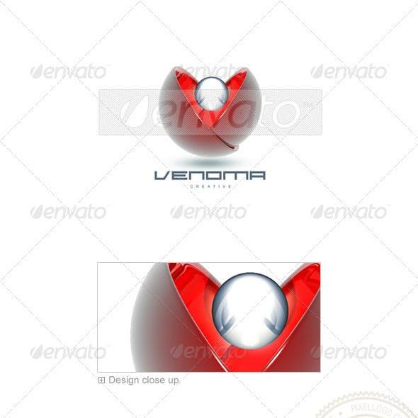 Communications Logo - 3D-86