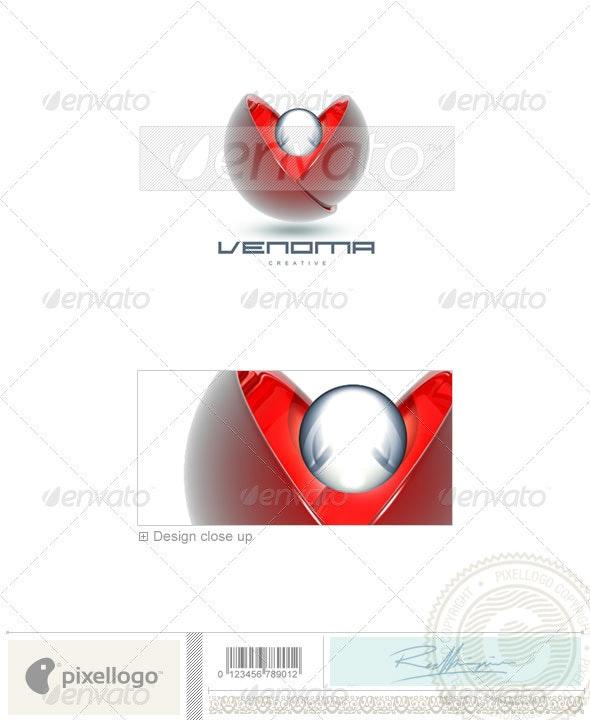 Communications Logo - 3D-86 - 3d Abstract