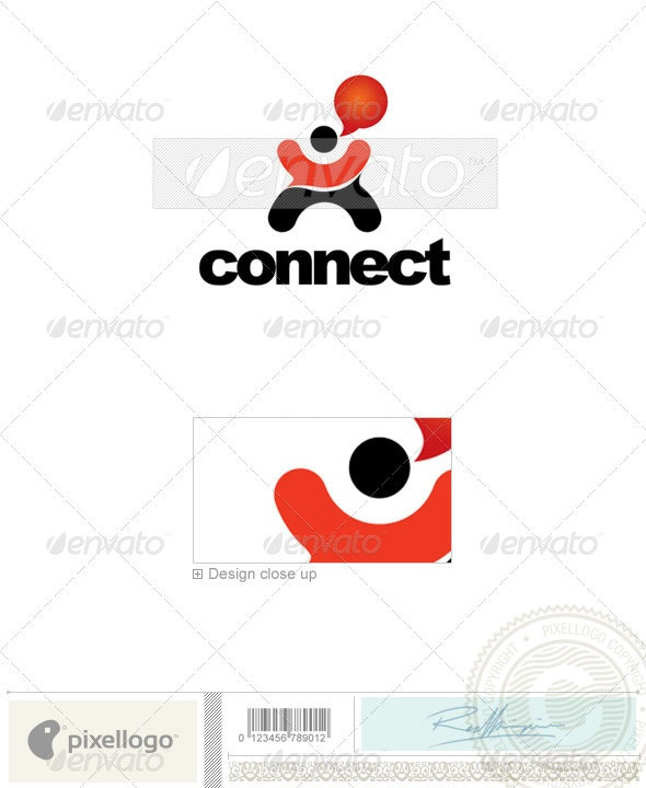 Communications Logo - 2068 - Vector Abstract