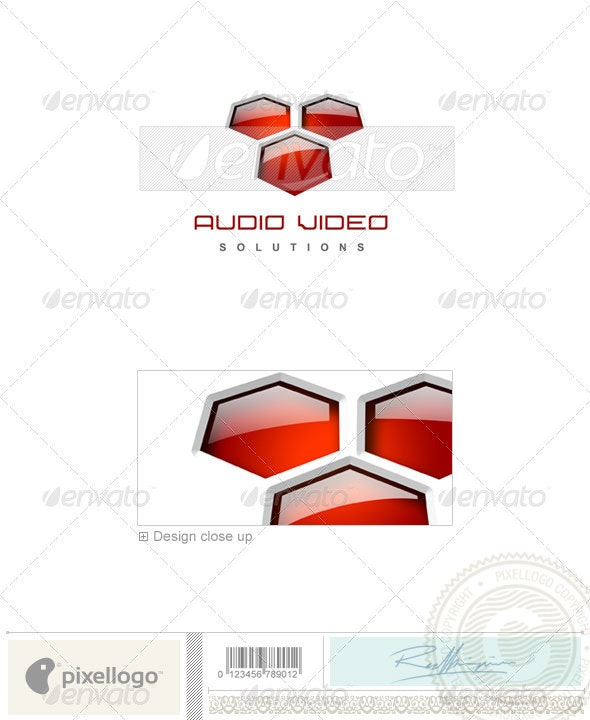 Activities & Leisure Logo - 3D-121 - 3d Abstract