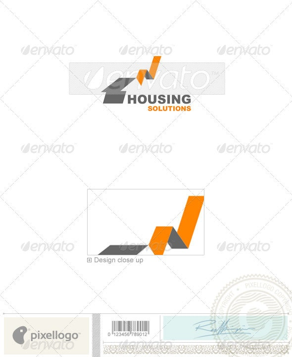 Home & Office Logo - 645 - Buildings Logo Templates