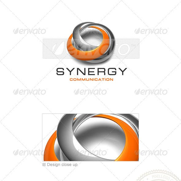 Communications Logo - 3D-429