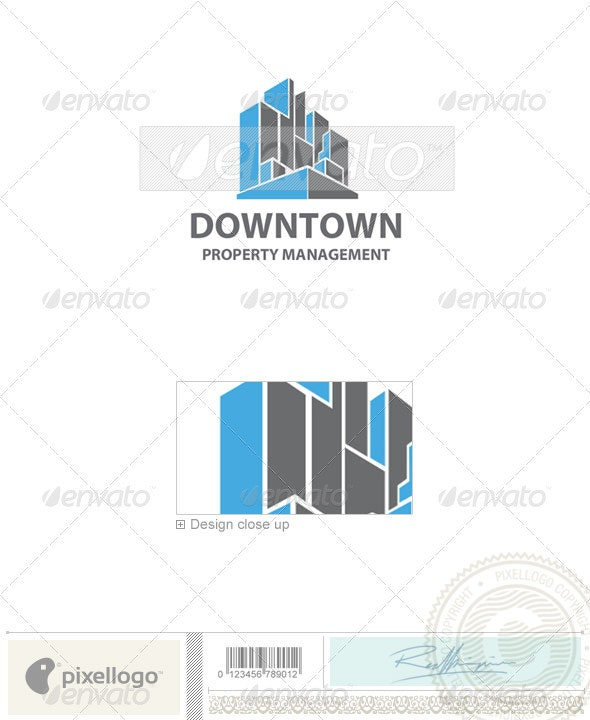 Home & Office Logo - 141 - Buildings Logo Templates