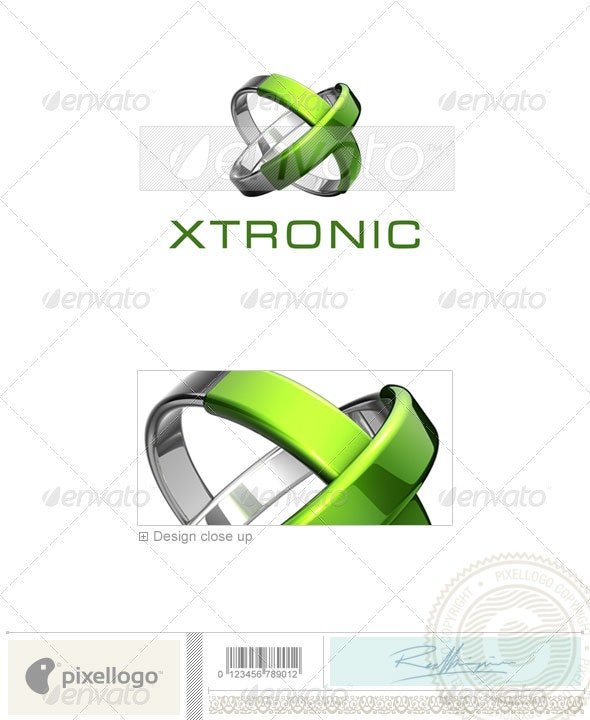 Technology Logo - 3D-667 - 3d Abstract