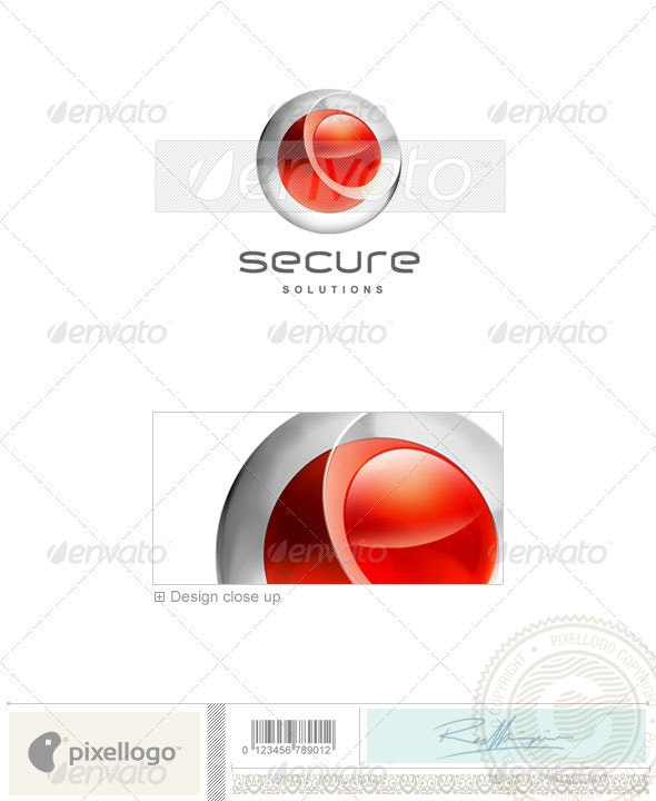 Technology Logo - 3D-180 - 3d Abstract
