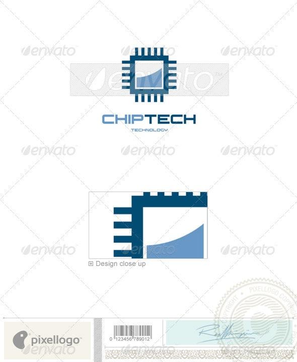 Technology Logo - 353 - Vector Abstract