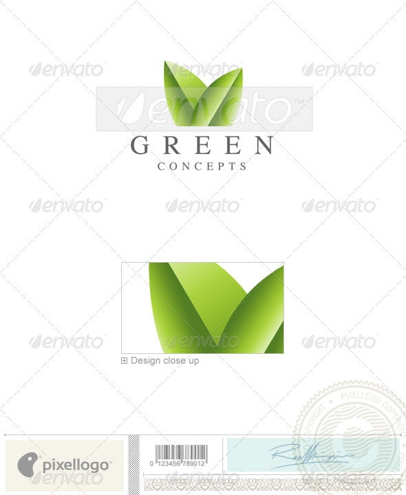Nature & Animals Logo - 1919 - Nature Logo Templates