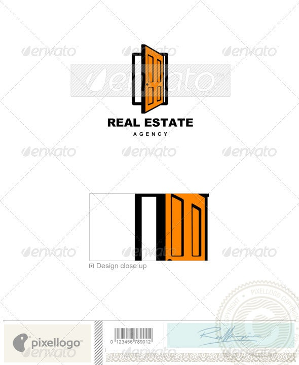Home & Office Logo - 525 - Objects Logo Templates