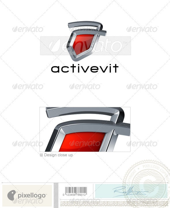 Technology Logo - 3D-675 - Letters Logo Templates