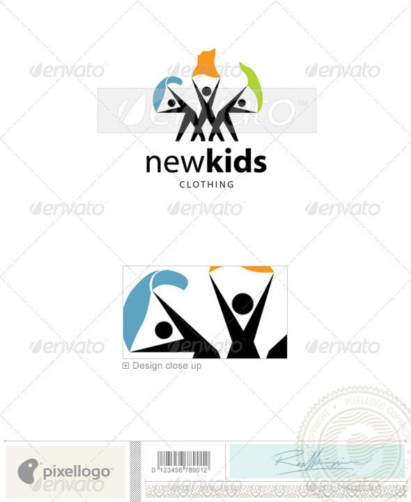 Activities & Leisure Logo - 2064 - Vector Abstract