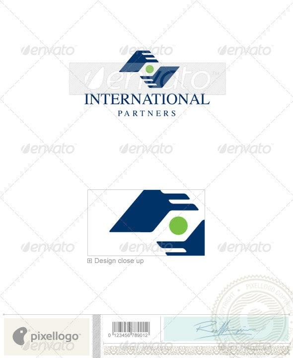 Business & Finance Logo - 654 - Humans Logo Templates