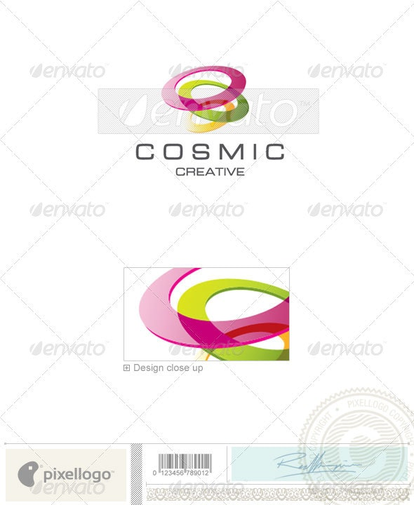 Print & Design Logo - 1693 - Objects Logo Templates