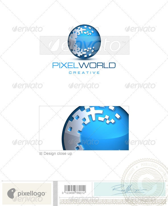 Communications Logo - 3D-272 - 3d Abstract