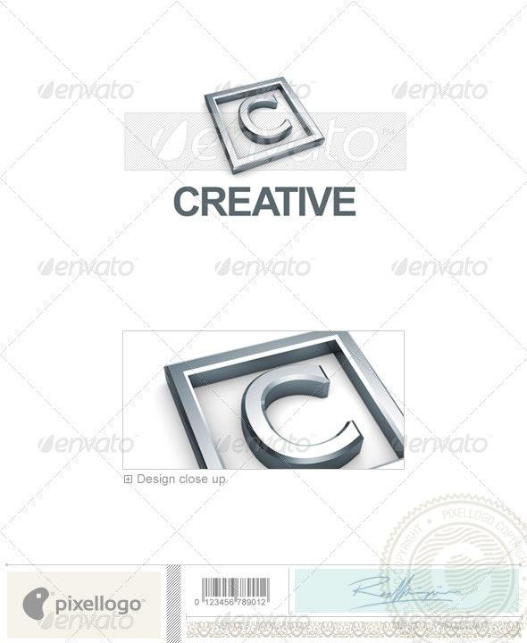 C Logo - 3D-295-C - Letters Logo Templates