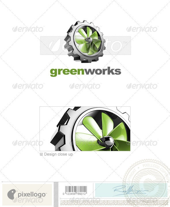 Industry & Science Logo - 3D-443 - 3d Abstract