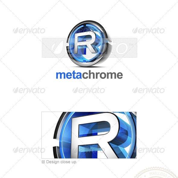 R Logo - 3D-476-R