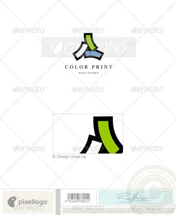 Print & Design Logo - 660 - Vector Abstract