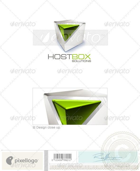 Technology Logo - 3D-226 - 3d Abstract