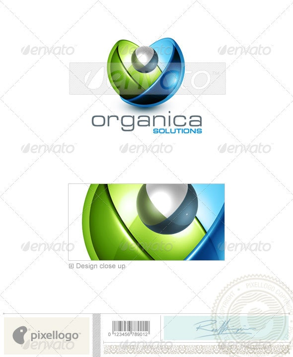 Technology Logo - 3D-423 - 3d Abstract