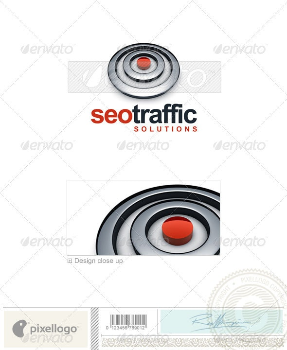 Technology Logo - 3D-625 - 3d Abstract
